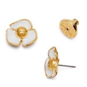 Tory Burch Flower Stud Earings